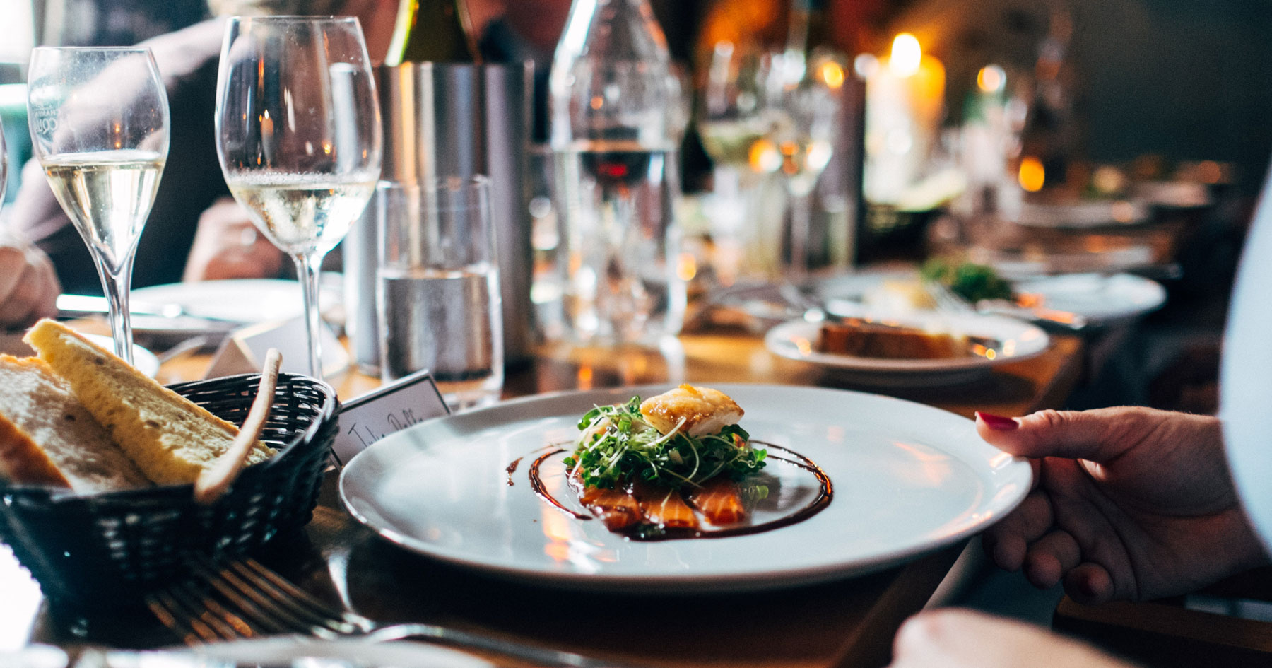 Sticking to your guns: how to survive client dinners and holiday parties